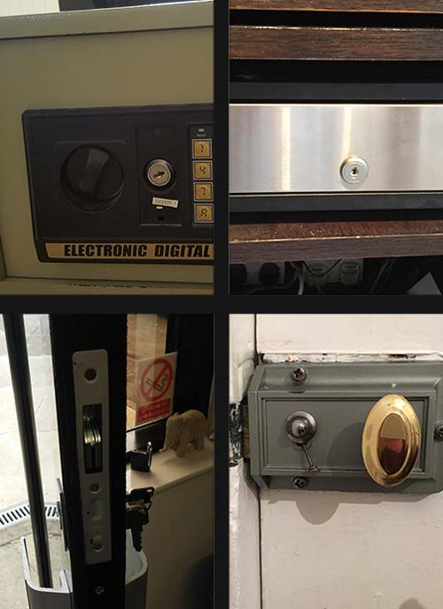 Our Locksmiths in Action Gallery